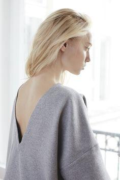 girl backless blouse new brand the odder side