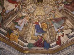 LORETO (Italie) 2016 Plafonds aux décors somptueux basilique renfermant aussi la vierge noire