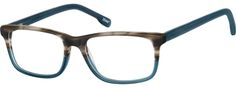 Order online, men's blue full rim acetate/plastic rectangle eyeglass frames model #101016. Visit Zenni Optical today to browse our collection of glasses and sunglasses.