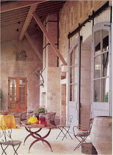 French doors rounded tops