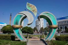 The Big Apple in Almaty, Kazakhstan