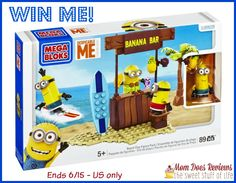 #Win Mega Bloks Despicable Me Beach Day Set #ComePlay ends 6/15 US only