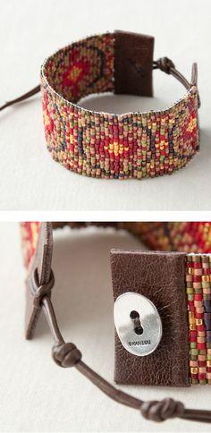 CHAN LUU cuff beads   bracelet http://item.rakuten.co.jp/lilietnene/cl3a-bs3534-re/