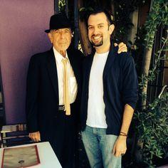 """ Leonard Cohen, ladies and gentlemen! #mamassecret #leonardcohen 5.49 pm 4/6/2014 Mama's Secret Bakery & Cafe "" Kindly shared by rkenanarun on statigram."