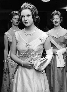 The Royal Watcher - Princess Benedikte with her sister Crown Princess Margrethe