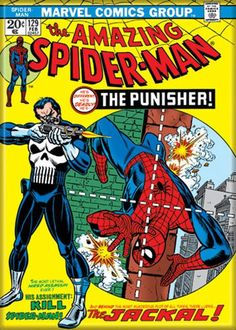Marvel comics the #amazing spiderman #129 comic book cover #refrigerator #magnet ,  View more on the LINK: http://www.zeppy.io/product/gb/2/361380178236/