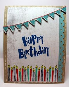 would be a super cute birthday quilt wall hanging!