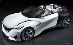 Peugeot FRACTAL Concept Wins French Car Design Award