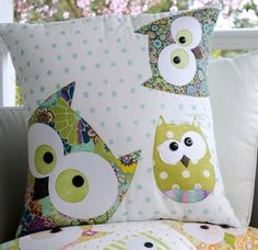"""""""Family of Owls"""" designed by Claire Turpin for Claire Turpin Designs."""