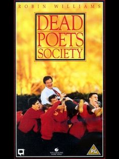 One of Robin William's best. (Pleasant surprise to see young Ethan Hawke and Robert Sean Leonard (Dr.Wilson of TV Series House MD), in the movie). For those who love poetry, this movie enthralls. Go To Movies, Great Movies, Family Movies, Film Music Books, Music Tv, Dramas Online, Dead Poets Society, Inspirational Movies, Movies Worth Watching