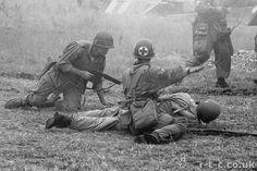 101st Taking casualties