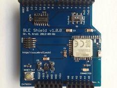 Arduino BLE Shield: Connecting the iOS and the Arduino World by Rowdy Robot, via Kickstarter.