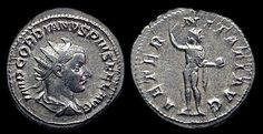 Rome, AD (AD AR antoninianus, Radiate bust right / Sol radiate, standing left holding globe, RIC 83