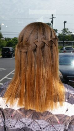 Beautiful Waterfall Braid Pretty and easy