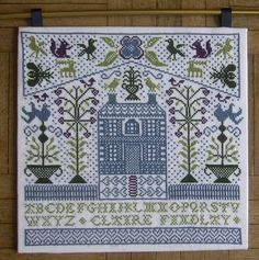 gazette94: free pattern.  This is so pretty.... but I hope all those dots aren't french knots!