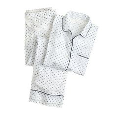 End-on-end pajama set in swiss dot// i have wanted a pair of these for as long as i can remember