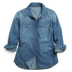 Stitch Fix Style | This Just In: Lanie Denim Chambray