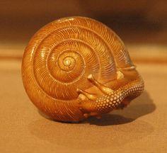 Snail-netsuke---LACMA by Marshall Astor - Food Fetishist, via Flickr