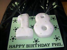 birthday cake 18 year