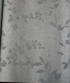 $76.00 9yds Silver Glitter Leaves on Silver Subtle Weave | Glitter