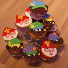 Hobbyworld: Cupcakes Sinterklaas en Pietjes