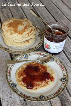 Pancakes à la Bouteille Faciles et Rapides - Recette idéale pour le petit déjeuner ou le goûter Photo : Eric - La Cuisine des Jours... © 2016