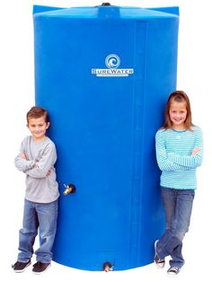 For the homestead if you don't plan on migrating!  SureWater 525 Gallon Water Storage Tank