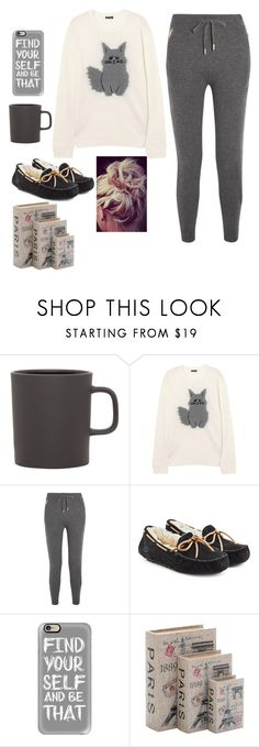 """""""#lazyday"""" by brooklynqueen04 ❤ liked on Polyvore featuring Royal Doulton, Burberry, UGG, Casetify, Home Decorators Collection and LazyDay"""