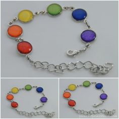 Regenbogen-DIY-Schmuck Rainbow Coloured DIY Jewellery