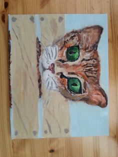 """New original painting : """"Streuner"""" Why don't you give me some feedback in the comment section:) Thank You! My Drawings, Original Paintings, Give It To Me, The Originals, Art, Kunst, Art Education, Artworks"""
