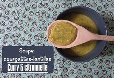 soupe courgettes lentilles corail citronelle