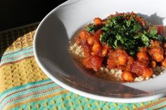 Moroccan-Style Winter Vegetable Stew with Couscous. By GoodVeg contributor Nicole Navratil of Pepperoni is Not a Vegetable. http://goodveg.squidoo.com/recipes/pepperoni-is-not-a-vegetable/moroccan-style-winter-vegetable-stew-with-couscous