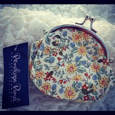 Waddesdon Small Sunshine Flower Purse..  https://www.facebook.com/pages/Elinors-Cupboard/222897244404367?ref=hl