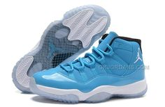 "the best attitude bb574 289cb Air Jordan 11 (XI) Retro ""Pantone"" University Blue White-Black"