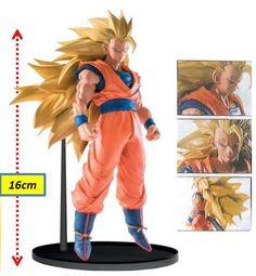 Figura Goku, 16 cm Super Big Budoukai 6 Vol. 5. Dragon Ball Z. Banpresto  Figura de 16 cm basada en la serie de tv Dragon Ball Z, con el guerrero Goku.