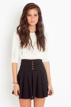 I real cute skirt for all seasons Una falda realmente linda para todas las temporadas!