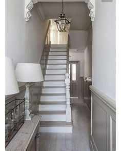 Panelling will most definitely feature in our new home #panelling #hallway #interiors #decor #ournewhome #elegant #woodworking #instahome #refurbish  #stylish  #timeless #irishhomesandgardens #interiordesign #neutrals #homedesign #classic #love #want #onthelist image via Pinterest