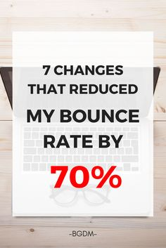 High bounce rates on a website make me go crazy. That's why I wrote this guide showing how I was able to reduce my site's bounce rate by 70%. These tips have helped me increase my site's engagement and SEO performance. I also save money from any advertising. Have you optimized your landing page's bounce rate?