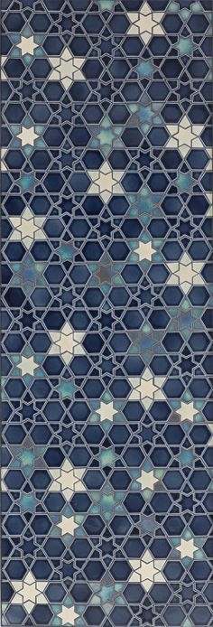 lostinpattern:  Fancy Hexagon Tile by Pratt & Larson