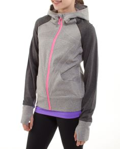Ivivva remix hoodie French terry $68
