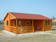 Domek letniskowy 8×7 | Producent domów i domków drewnianych letniskowych