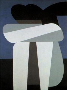 Sitting Figure by Yiannis Moralis Greece) Greek Paintings, Greek Art, Abstract Images, Abstract Art, Art Abstrait, Geometric Art, Figurative Art, New Art, Contemporary Art