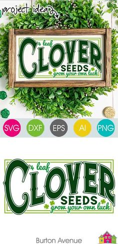 Get this SVG file for free! Read more. Leaf Clover, Silhouette Cameo Projects, Silhouette Design, Holiday Storage, 4 Leaves, Vinyl Projects, Sewing Projects, Cricut Explore Air