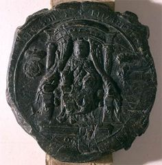Royal seal of Queen Elizabeth I.