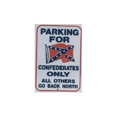 PLACA PARKING REBELDE - Southern Style Shop