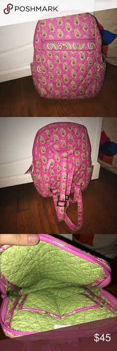 Never used Vera Bradley backpack! Has just sit in my closet for years now! Please give it a new home! Vera Bradley Bags Backpacks