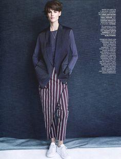 Vogue Rússia Fevereiro 2015   Saskia de Brauw por Patrick Demarchelier [Editorial]