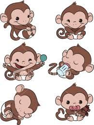 baby monkey tattoos - Google Search