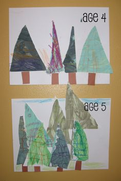 triangle trees 682x1024 Preschool Crafts for Letter T