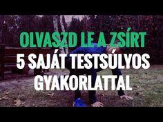 (52) OLVASZD LE MAGADRÓL A ZSÍRT, EZZEL AZ 5 SAJÁT TESTSÚLYOS GYAKORLATTAL - YouTube